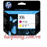 Đầu in HP 771 Magenta and Yellow (CE018A)  dùng cho máy in HP Z6200/Z6800