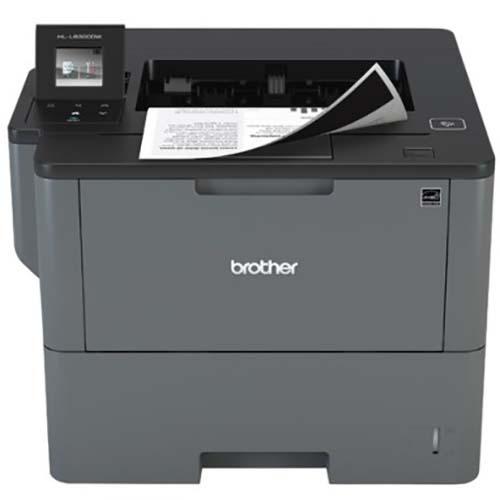 Máy in laser đen trắng Brother HL-L5100dn in tốc độ cao (tự động in 2 mặt, in mạng)
