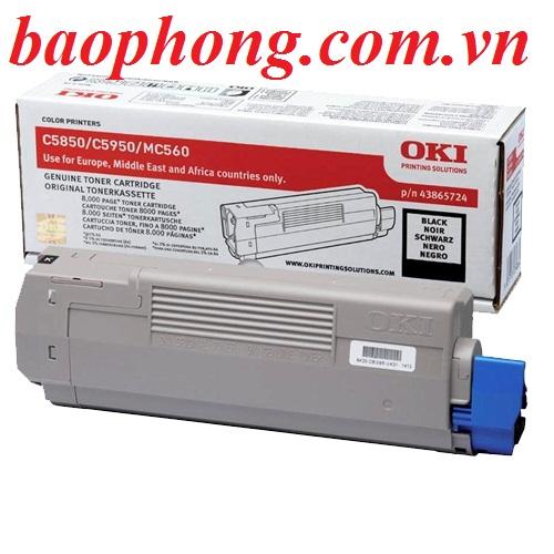 Mực In Laser Màu Oki C5850 Blak  dùng cho máy OKI C5850/5950