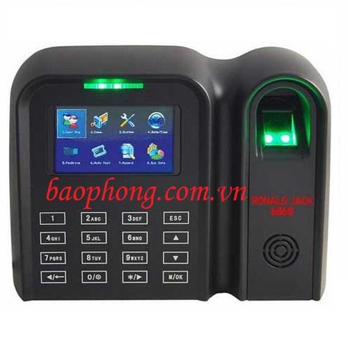 Máy chấm công vân tay + thẻ cảm ứng Ronald Jack 6868