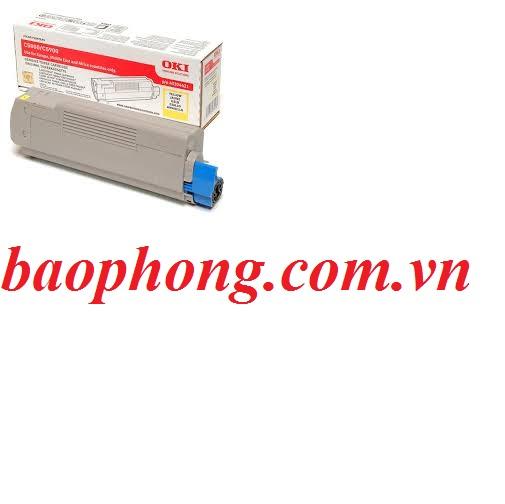 Mực In Laser Màu Oki C5800 Yellow dùng cho máy in OKI C5800N/C5900N