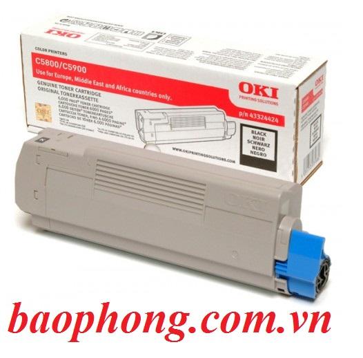 Mực In Laser Màu Oki C5800 Black dùng cho máy in OKI C5800N/C5900N