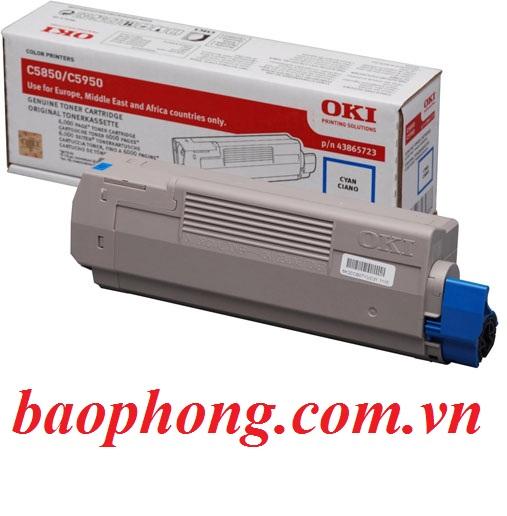 Mực In Laser Màu Oki C5850 Cyan  dùng cho máy OKI C5850/5950