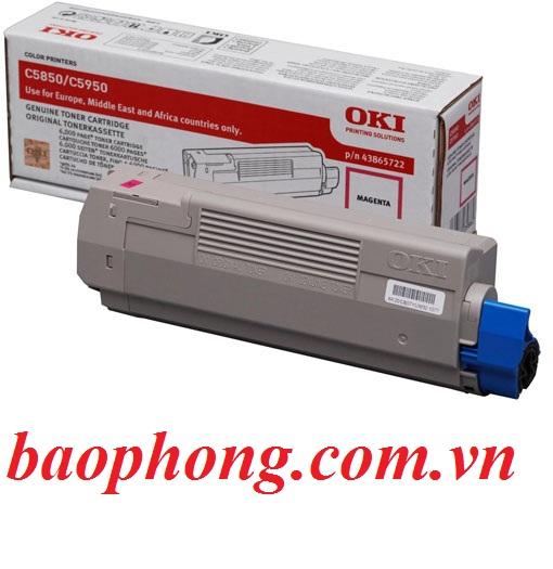 Mực In Laser Màu Oki C5850 Magenta  dùng cho máy OKI C5850/5950