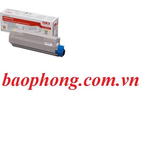 Mực In Laser Màu Oki C5850 Yellow dùng cho máy OKI C5850/5950