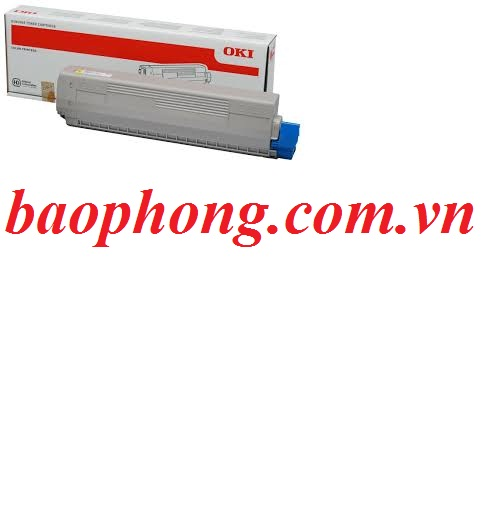 Mực In Laser Màu Oki C831 Yellow dùng cho máy  OKI C831N