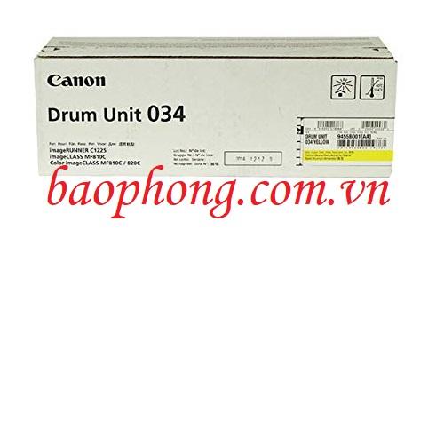 Cụm trống Canon 034 Yellow dùng cho máy in Canon MF810C/820C