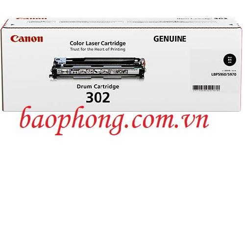 Cụm trống Canon 302 Black dùng cho máy in Canon LBP 5900/5910/5960