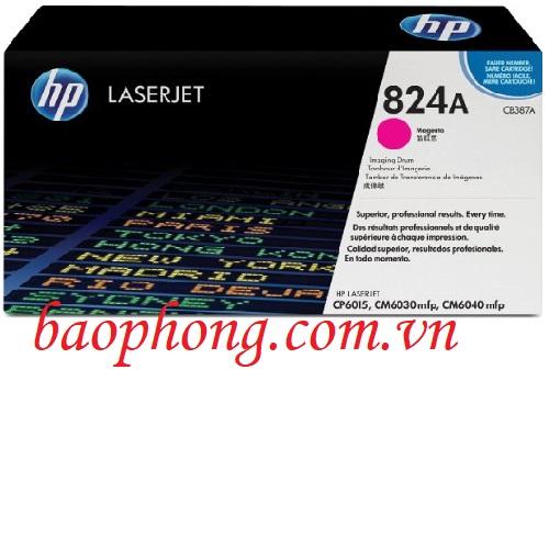 Cụm trống HP 824A Magenta (CE387A) dùng cho máy in HP CP6015/CM6030MFP/CM6040MFP