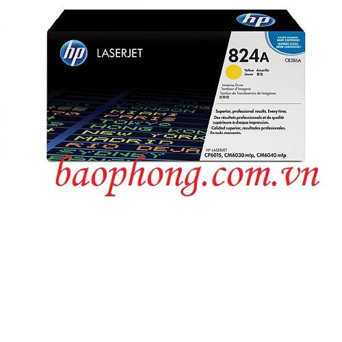 Cụm trống HP 824A Yellow (CE386A) dùng cho máy in HP CP6015/CM6030MFP/CM6040MFP