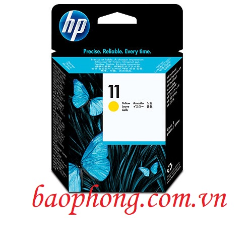 Đầu in HP 11 Yellow dùng cho máy in HP 500/510/800/815/9130 (C4813A)
