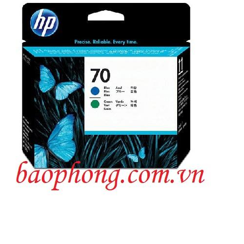 Đầu in HP 70 Blue and Green dùng cho máy in HP Z3100/3200/2100