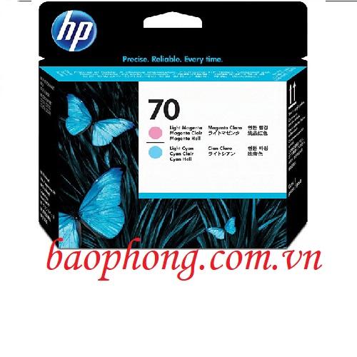Đầu in HP 70 Light Cyan and Light Magenta dùng cho máy in HP Z3100/3200/2100