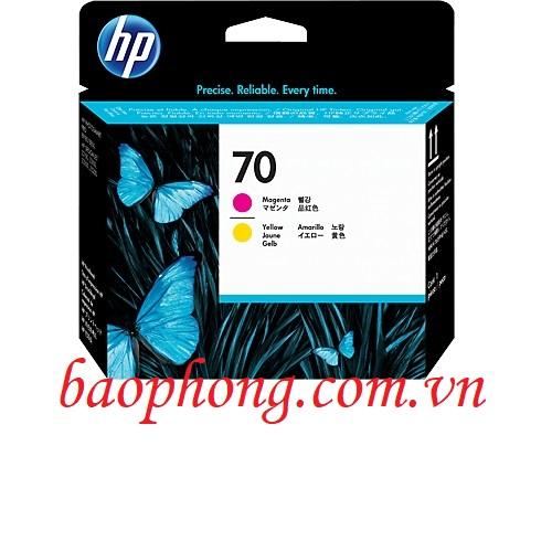 Đầu in HP 70 Magenta and Yellow dùng cho máy in HP Z3100/3200/2100