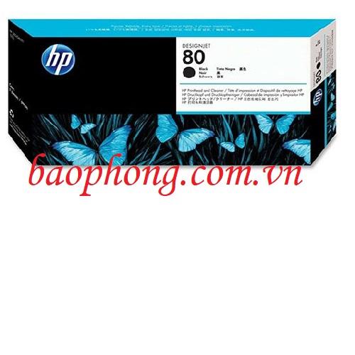 Đầu in HP No 80 Black (C4820A) dùng cho máy in HP 1050C/1055CM