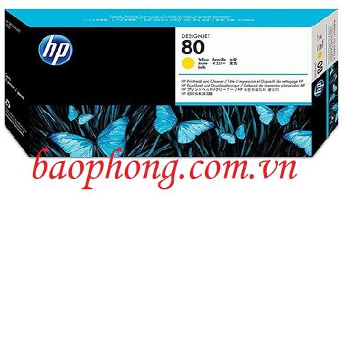 Đầu in HP No 80 Yellow (C4823A) dùng cho máy in HP 1050C/1055CM