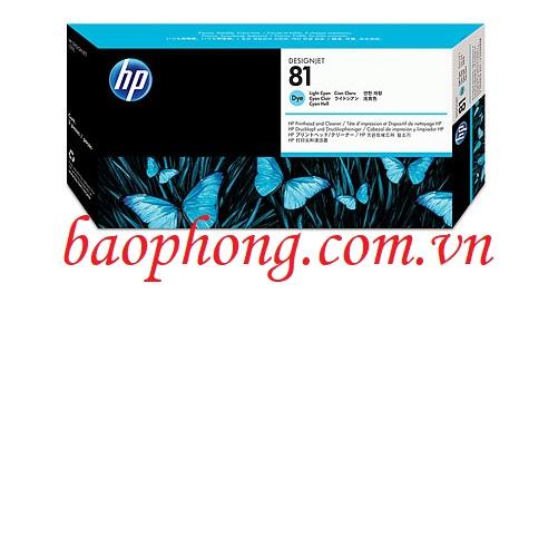 Đầu in HP No 81 Light Cyan (C4954A) dùng cho máy in HP 5500
