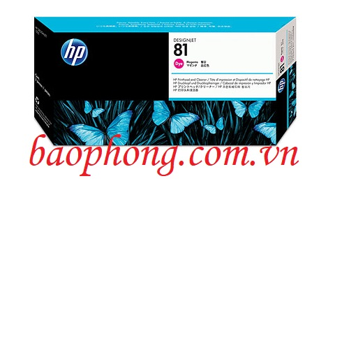 Đầu in HP No 81 Magenta (C4952A) dùng cho máy in HP 5500
