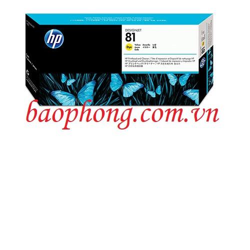Đầu in HP No 81 Yellow (C4953A) dùng cho máy in HP 5500