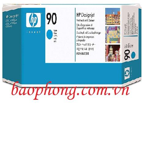 Đầu in HP 90 Cyan (C5055A) dùng cho máy in HP DesignJet 4000