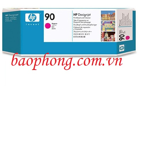 Đầu in HP 90 Magenta (C5056A) dùng cho máy in HP DesignJet 4000