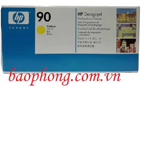 Đầu in HP 90 Yellow (C5057A) dùng cho máy in HP DesignJet 4000