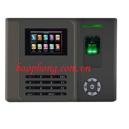Máy chấm công vân tay + thẻ cảm ứng Gigata 879C
