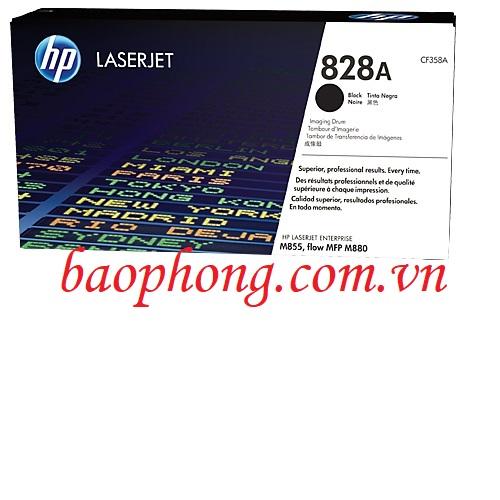 Cụm trống HP 828A Black (CF358A) dùng cho máy in HP M855DN/880Z/855XH