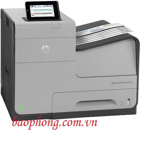 Máy in phun màu HP Officejet Enterprise X555XH