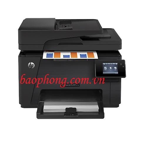 Máy in laser màu đa chức năng HP Pro M177FW (print, copy, scan, fax)
