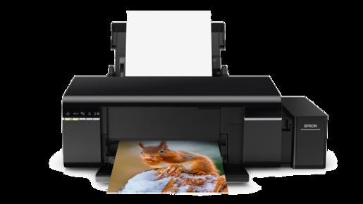Máy in Phun màu EPSON L805. Giá rẻ, bộ dẫn mực liên tục chính hãng