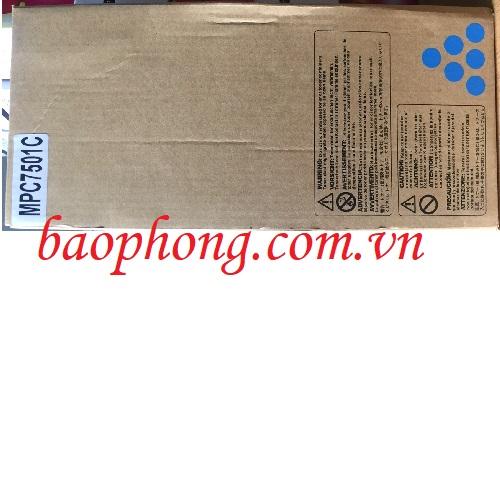 Mực máy Photo Ricoh MPC 7501/6501 màu xanh