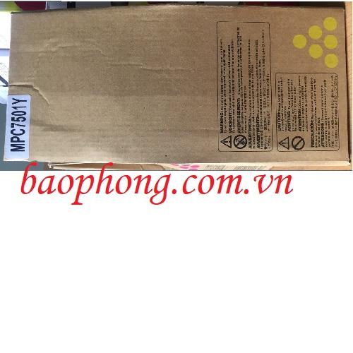 Mực máy Photo Ricoh MPC 7501/6501 màu vàng