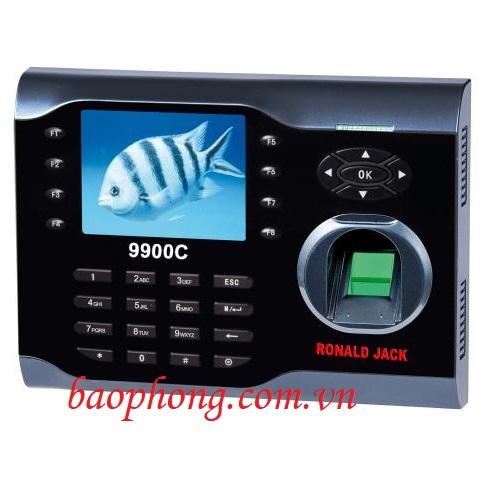 Máy chấm công vân tay + thẻ cảm ứng Ronald Jack 9900C