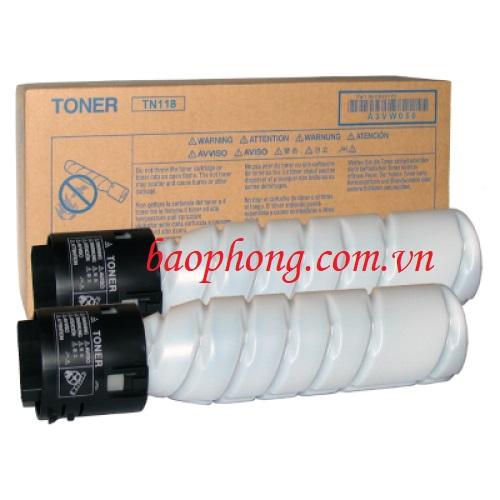 Hộp mực TN-118 dùng cho máy Photo Konica minolta Bizhub 195/215