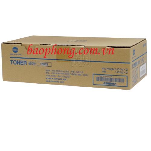 Hộp mực TN-222 dùng cho máy Photocopy Konica minotal Bizhub BH206/216/266