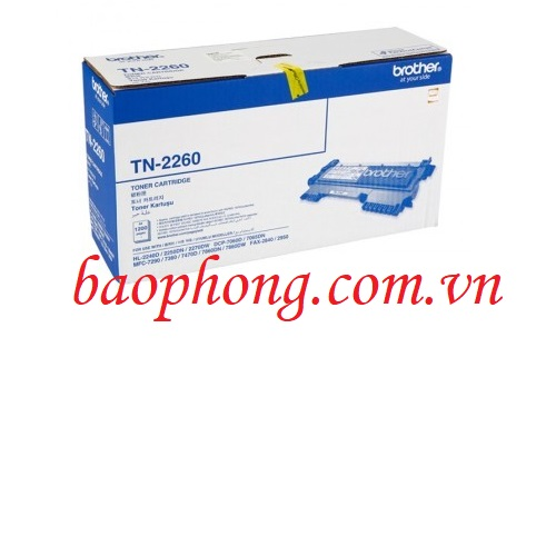 Mực in Brother TN-2260 dùng cho máy in HL-2240D/2250D/DCP-7060D/MFC-7360D