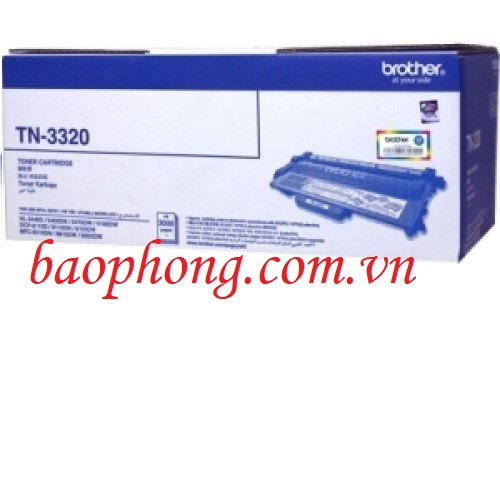 Mực in Brother TN-3320 dùng cho máy in HL-54XX/MFC-8910DW