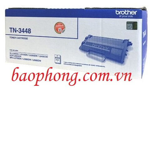 Mực in Brother TN-3448 dùng cho máy in HL-5100DN/MFC-L5700DN