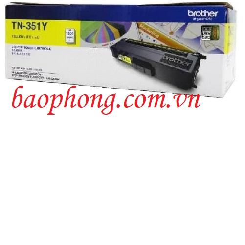 Mực in màu Brother TN-351Y dùng cho máy HL-L8350CND/8350CDW/MFC-L8850CDW/8600CDW