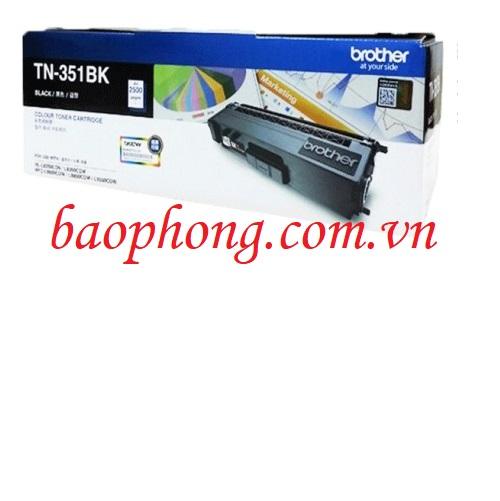 Mực in màu Brother TN-351BK dùng cho máy HL-L8350CND/8350CDW/MFC-L8850CDW/8600CDW