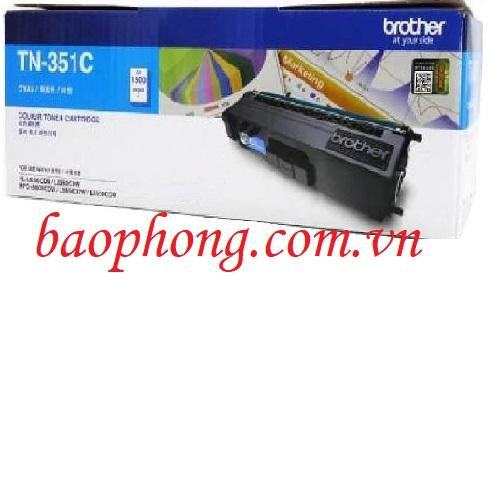 Mực in màu Brother TN-351C dùng cho máy HL-L8350CND/8350CDW/MFC-L8850CDW/8600CDW