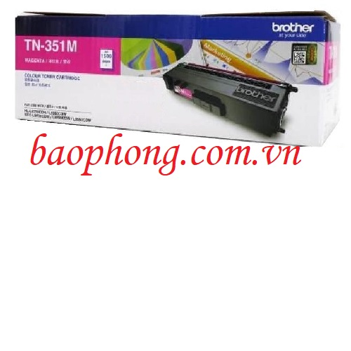 Mực in màu Brother TN-351M dùng cho máy HL-L8350CND/8350CDW/MFC-L8850CDW/8600CDW