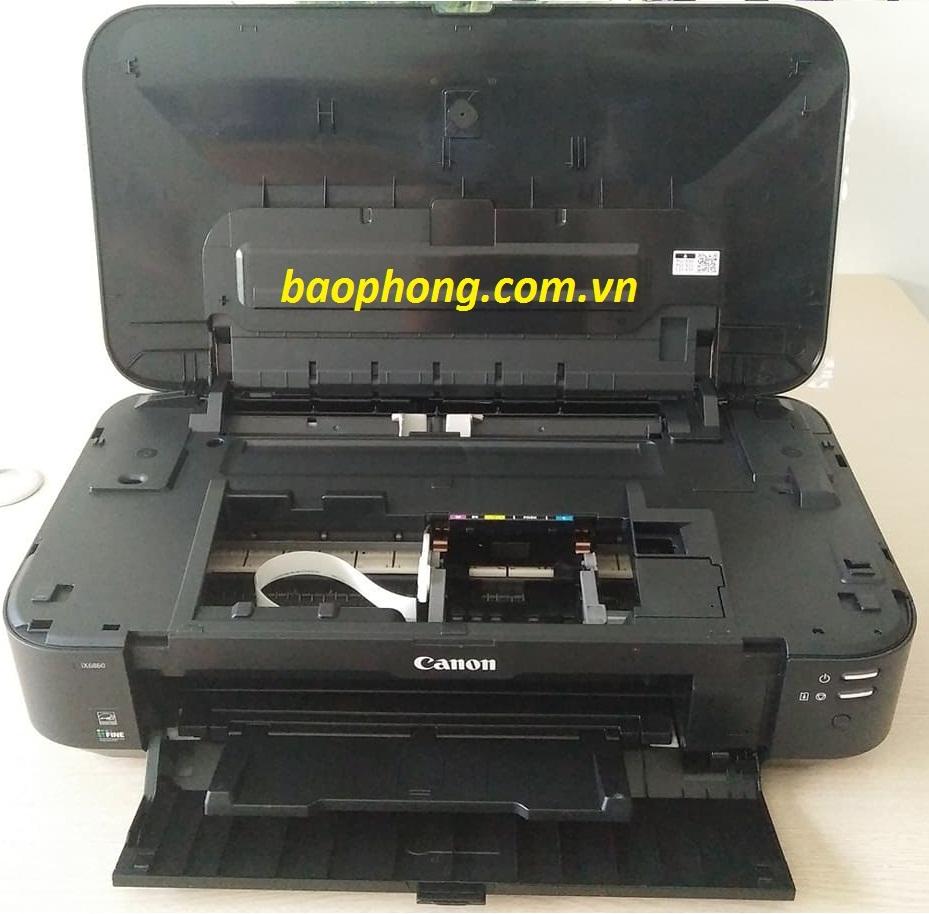 Máy in Canon IX6860 lắp dẫn xịn + 4L mực Inkgood tặng gói bảo hành 20.000 bản in