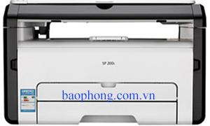 Máy in Ricoh Laser đen trắng Đa chức năng SP 200S (in A4, scan, copy )