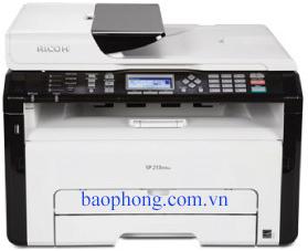 Máy in Laser đen trắng đa chức năng RICOH SP 203SF (In, Copy, Scan, Fax)