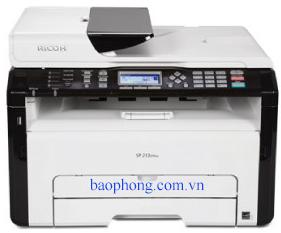 Máy in Laser đen trắng đa chức năng Ricoh SP 203SFN (In, Copy, Scan, Fax)