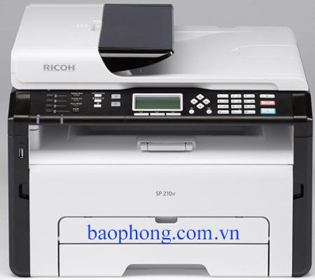 Máy in Ricoh Laser đen trắng Đa chức năng SP 210SF (in A4, scan, copy, fax )