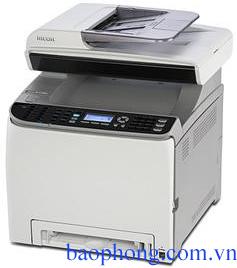 Máy in RICOH Laser màu Đa chức năng SPC 242SF (In, Copy, Scan, Fax)