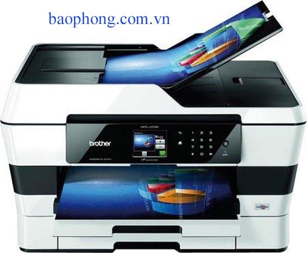 Máy in Phun màu Đa chức năng A3 Brother MFC-J3720 (in A3, scan, copy, fax)
